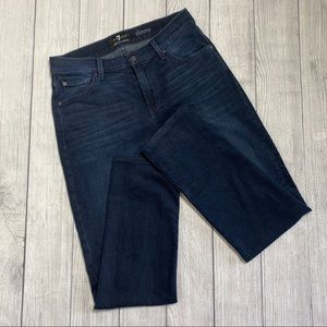 7 for all mankind luxe performance slimmy size 30
